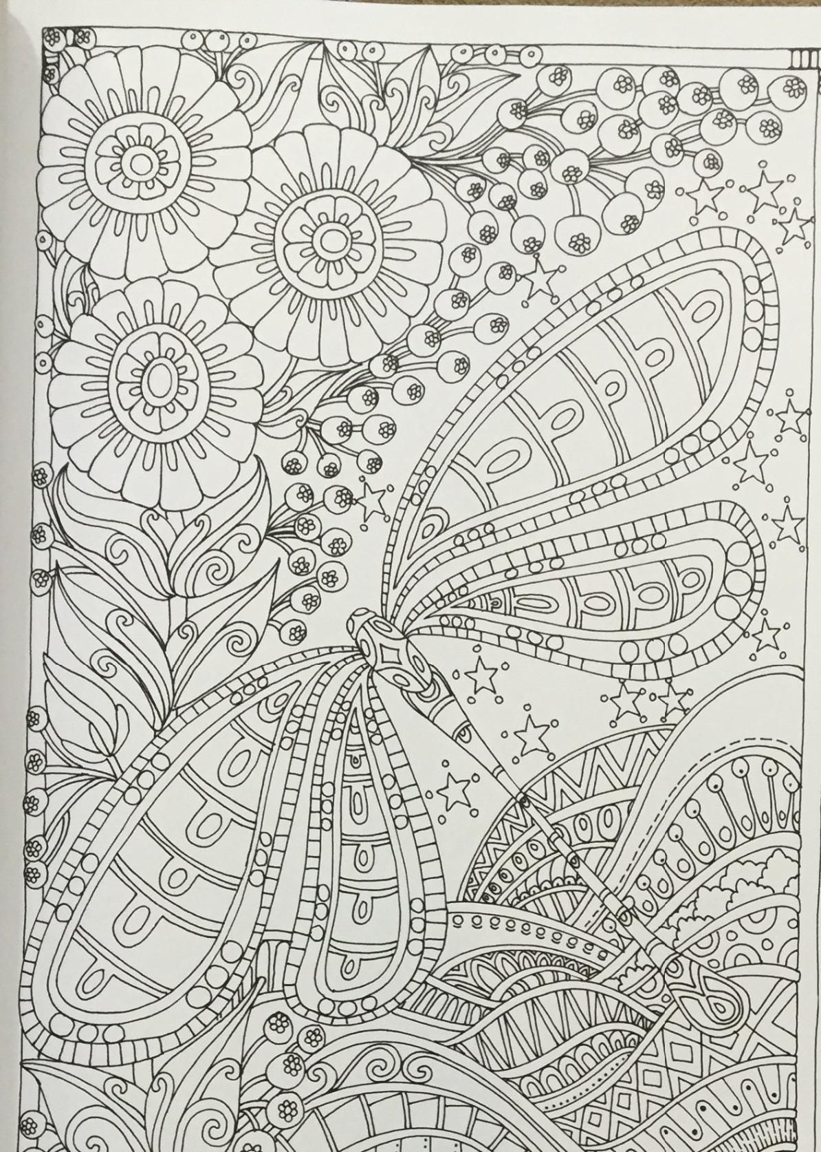 Coloring in dragonflies - Creative Haven Entangled Dragonflies Coloring Book Adult Coloring Dr Angela Porter