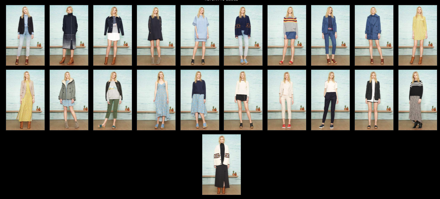 band of outsiders collection photo ref