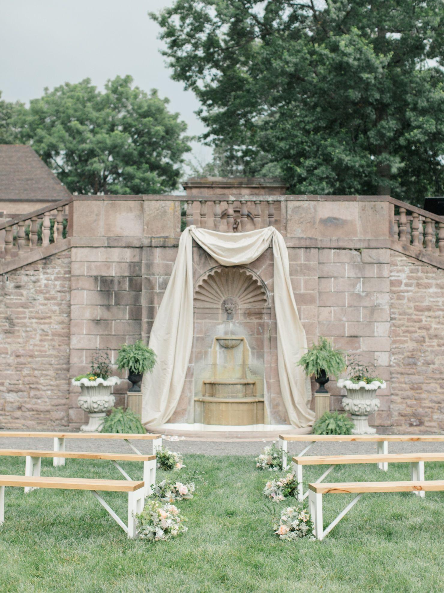 Courtney + Steve Tyler Gardens Wedding Bucks County, PA