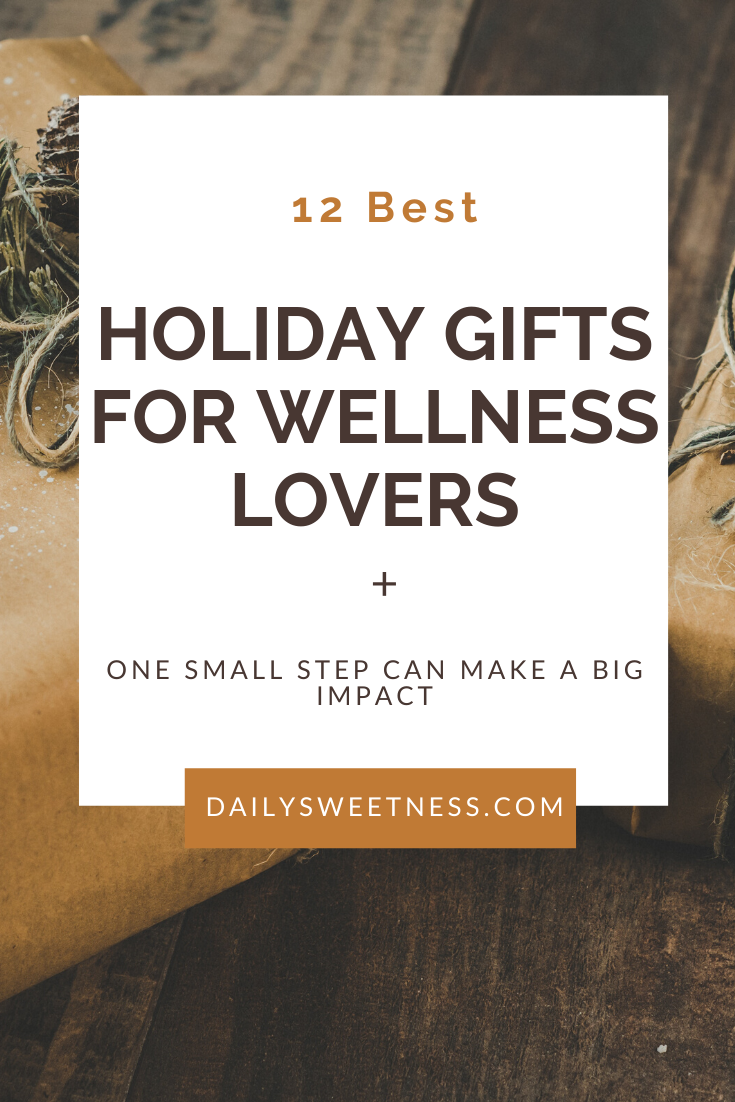 Looking for holiday gifts for that wellness enthusiast