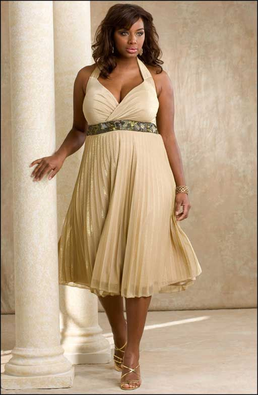 Look Stylish With Formal Dresses Plus Size  100 Gorgeous -4229