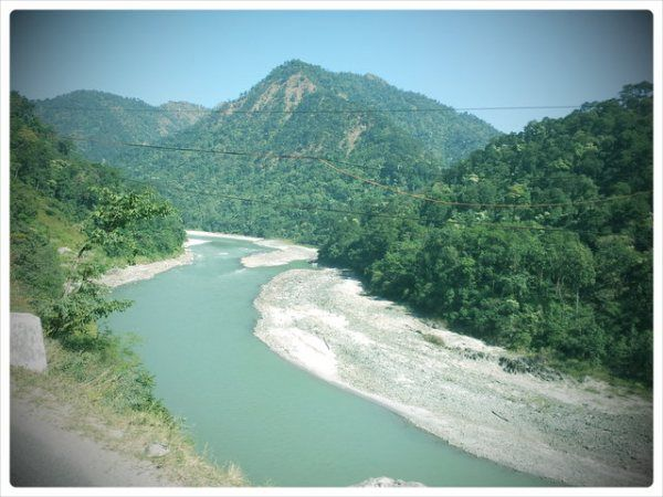 River In East India