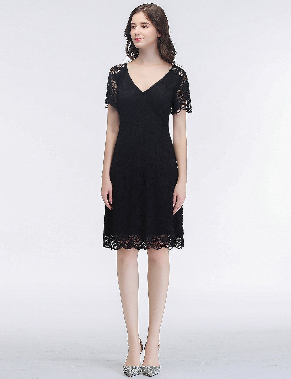 Gardenwed womens vintage floral lace dress cocktail party bridesmaid
