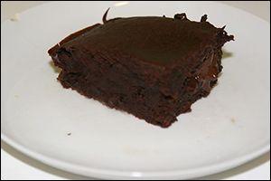 No-Guilt Flourless Chocolate Cake... Finally! | Flourless ...