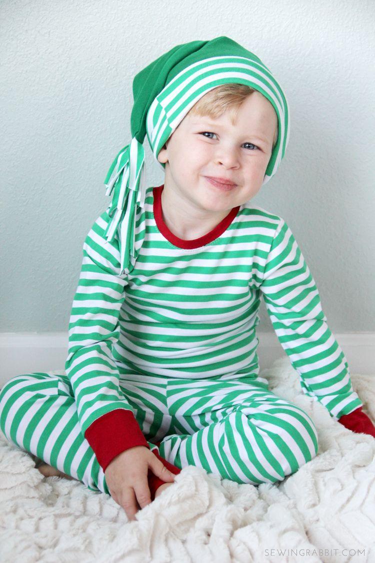 Sleeping Cap DIY   Christmas Jammies  2e141ea49