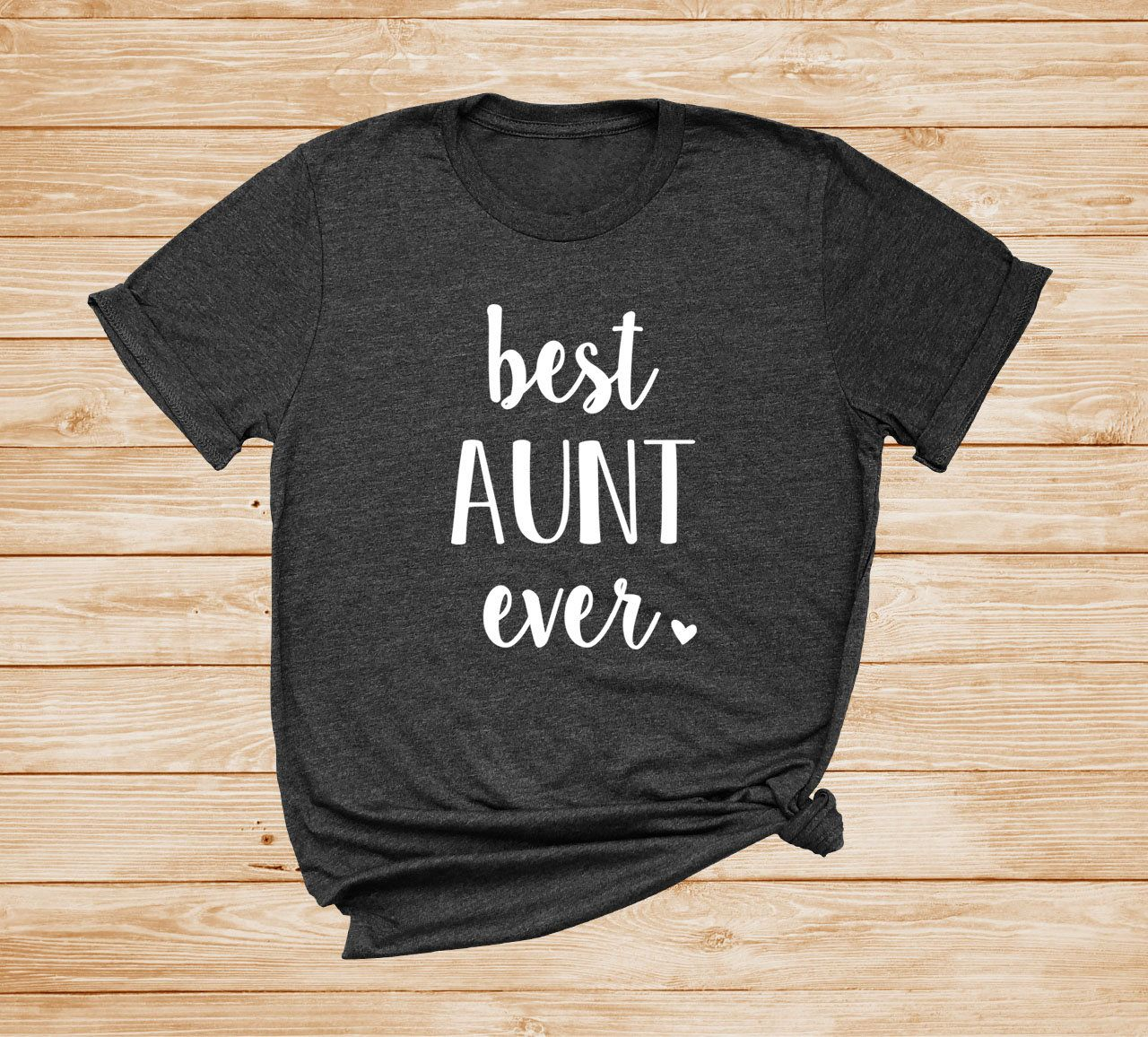 Best aunt ever unisex tshirt aunt shirt gift for aunt