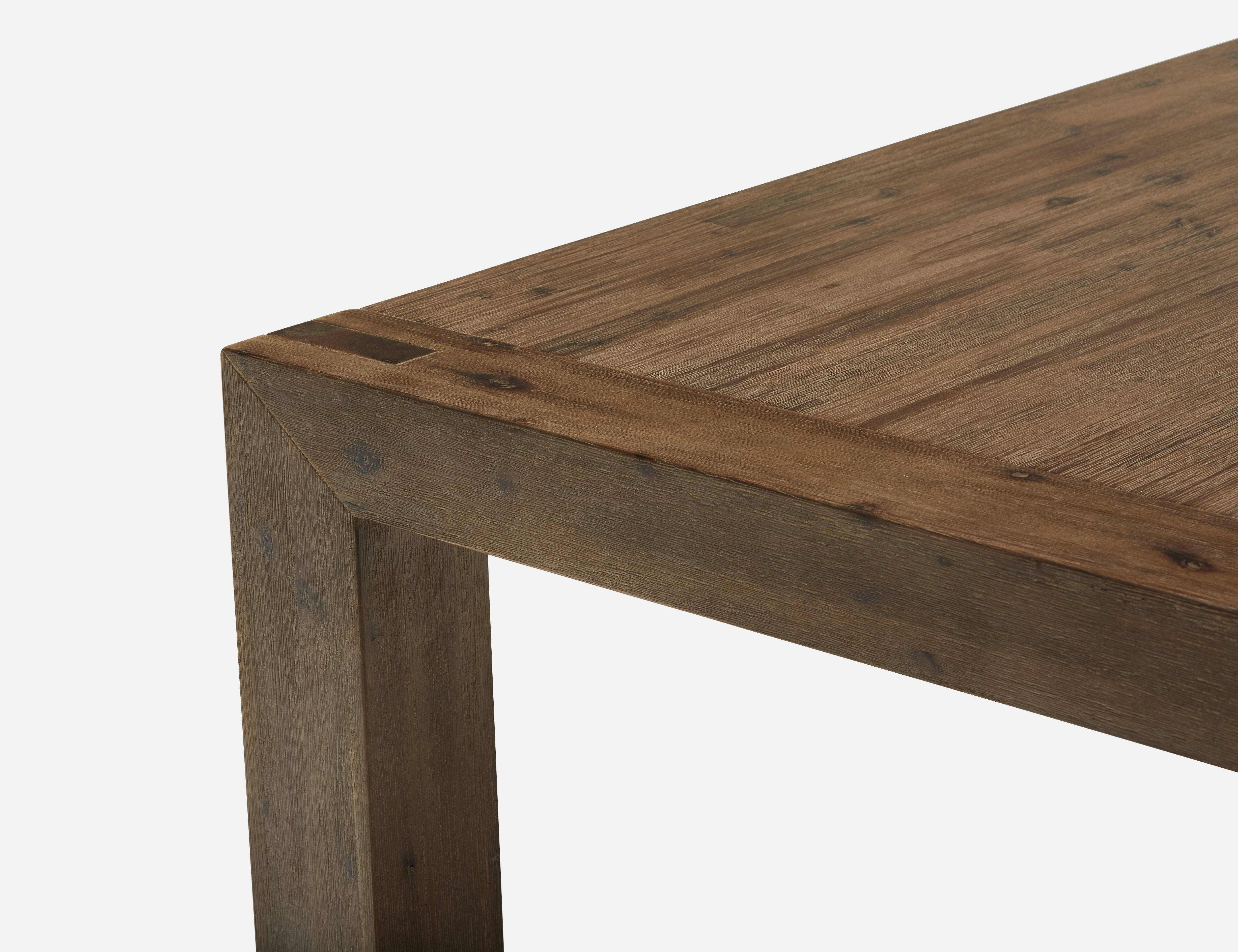 Magnificent Hamburg Grey Solid Acacia Wood Dining Table 180Cm Struc Dailytribune Chair Design For Home Dailytribuneorg