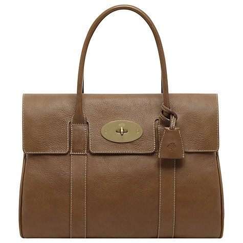 Buy Mulberry Bayswater Natural Veg Tanned Leather Grab Bag Online at  johnlewis.com 7d7529c1fcd79