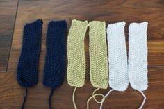 Mitbringsel aus Wollresten stricken – mit Verlosung! – bluebottles #strickenundhäkeln
