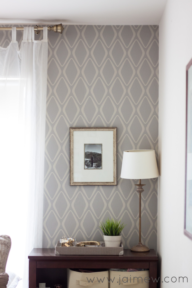 removable wallpaper Devine Diamond in Twig by Target