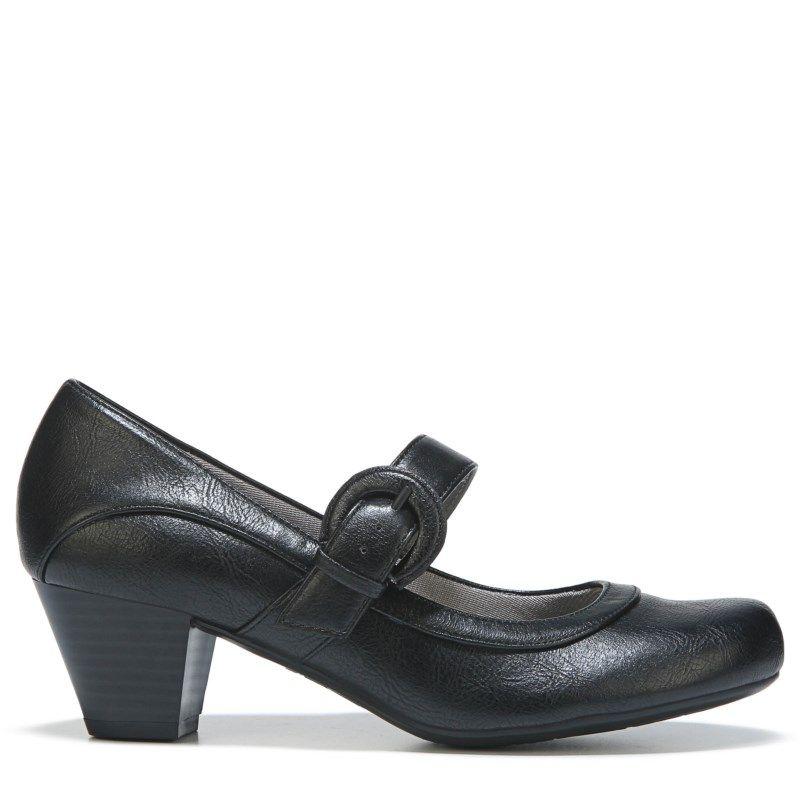 4a9ef6c3dc21 Lifestride Women s Rozz Mary Jane Pump Shoes (Black)