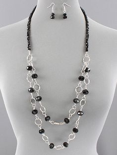 double strand beaded necklace patterns   Jewelry Trinket Designs ...