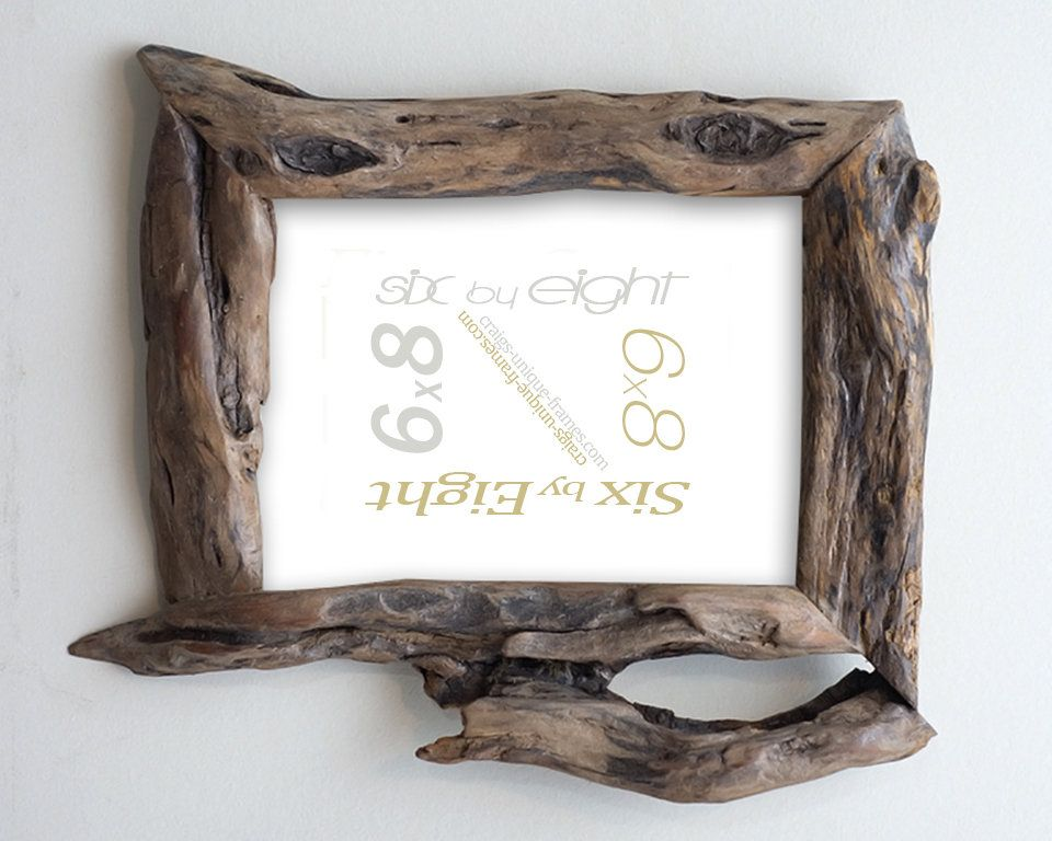 6x8 Willow Wood Frame Wooden Frame Unique Photo Frames 6x8 Wood