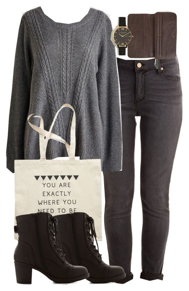 """""""Isaac Inspired Modcloth Outfit"""" by veterization ❤ liked on Polyvore featuring Olivia Burton"""