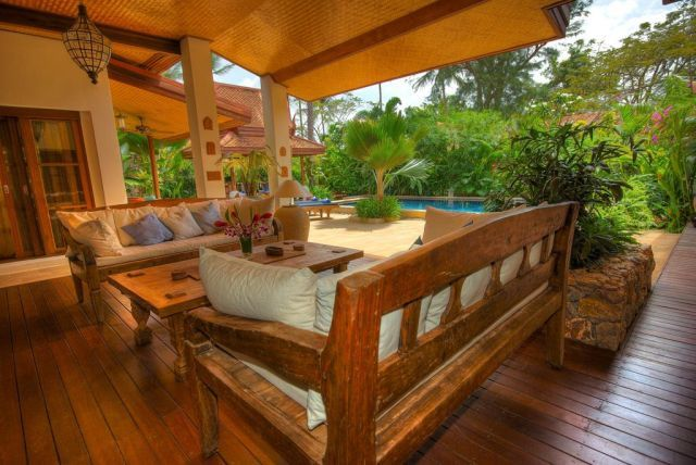 A must have outdoor living space all things for Luxury outdoor living spaces