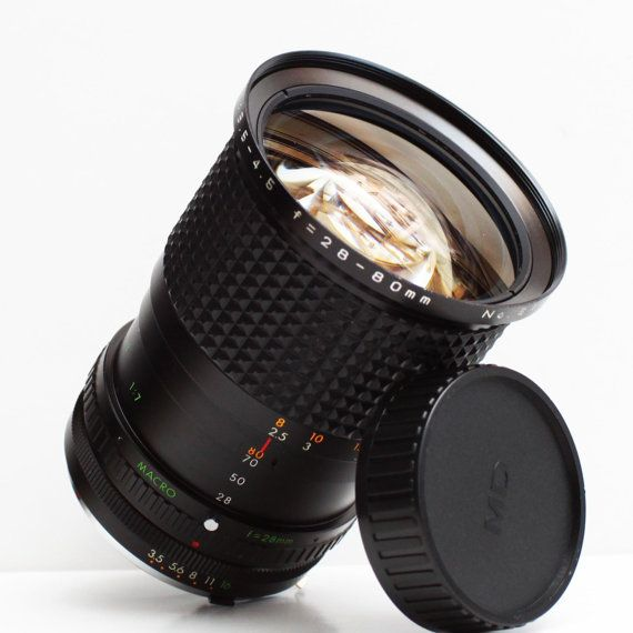 Focal 28-80mm F/3 5-4 5 Minolta MD Mount Zoom by