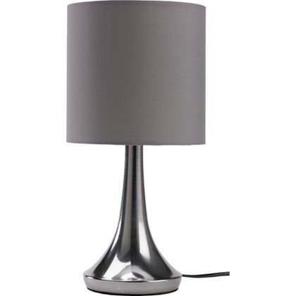 Chrome touch table lamp charcoal at homebase be inspired and chrome touch table lamp charcoal at homebase be inspired and make your house aloadofball Images
