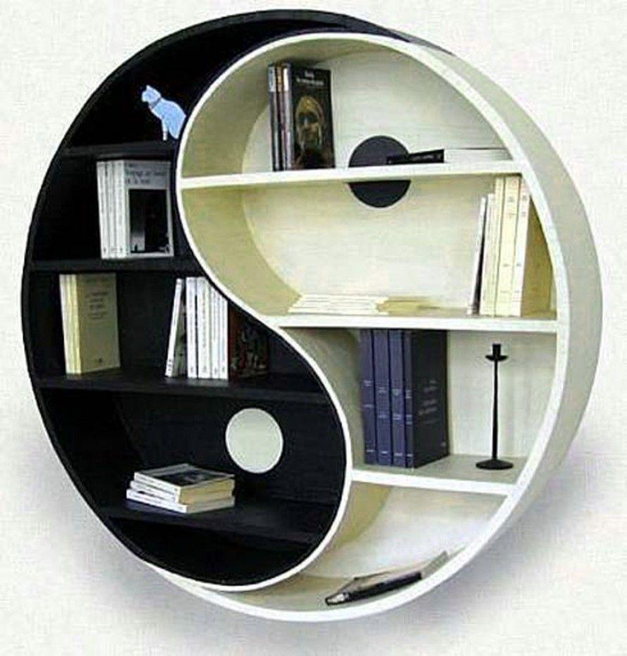 Decorating , 33 Amazing and Creative Bookshelves : Creative Bookshelves Cardboard Furniture2