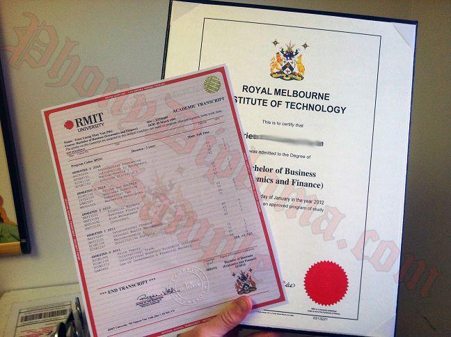 Original Match Diploma From Australian University Australia