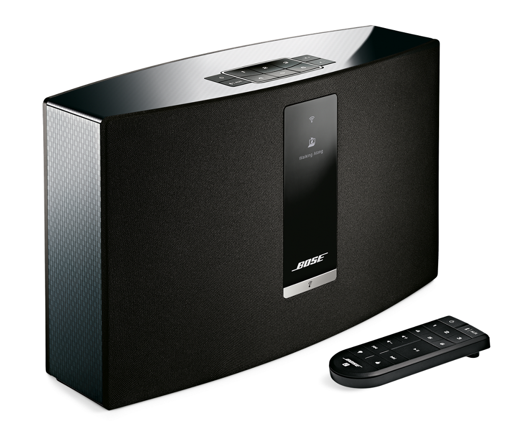 The Bose SoundTouch 20 wireless music system streams