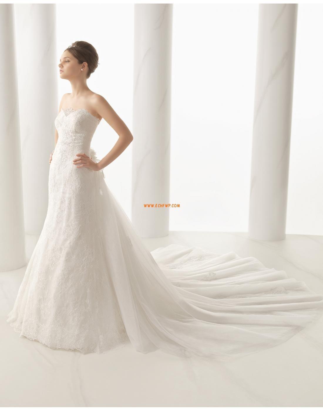 Hochzeitskleider mit Schal Reißverschluss Empire Brautkleider 2015 ...