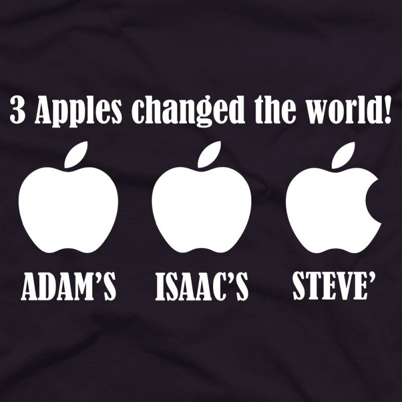 3 Apples Changed The World Apple Steve Jobs Memorial With