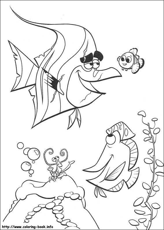 Finding Nemo coloring picture | Disney animal movies | Pinterest ...