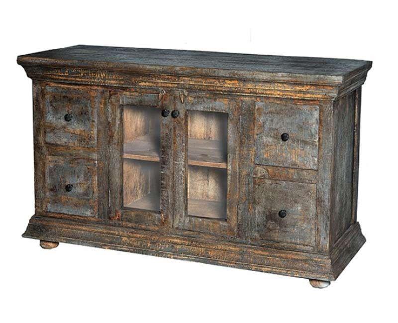 Moti Furniture Denton 4 Drawer And 2 Door Cabinet 80009001