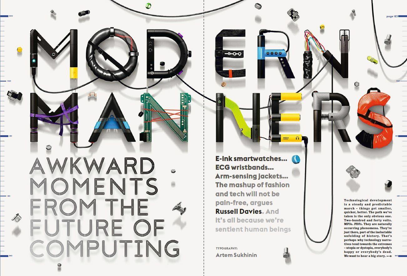 Inspiration: Magazine Spreads   all work   Magazine layout