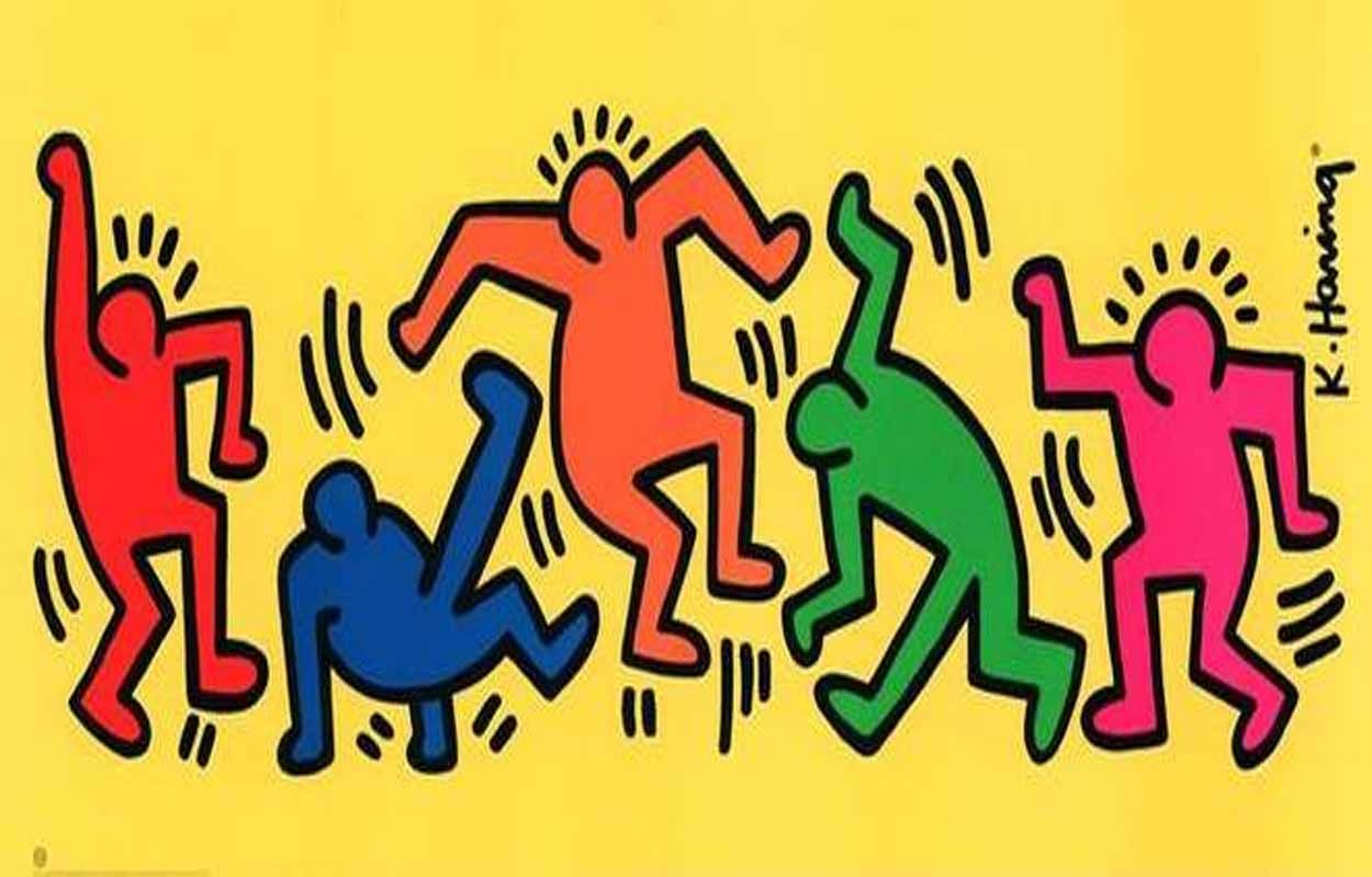 Copy Of Keith Haring - Lessons - TES | street art | Pinterest ...