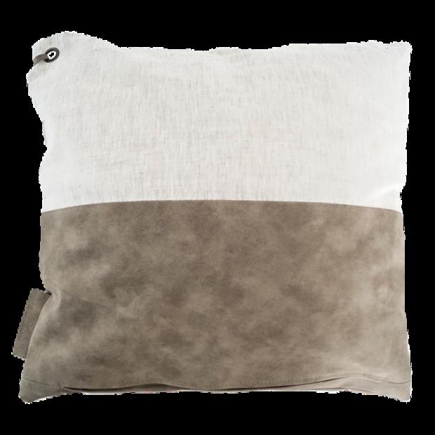 Stoelkussen 45 X 45.Zusss Kussen 45 X 45 Cm Groen Grijs Pillows Living Rooms And
