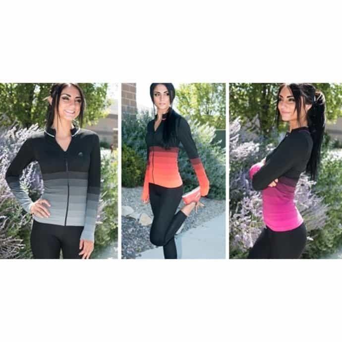 Ombre Workout Jacket 5 Colors Color, Workout, Jackets