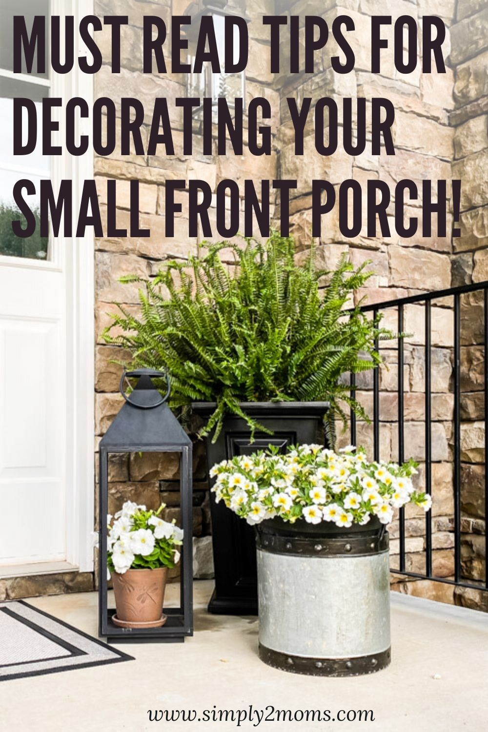 My Summer Front Porch Refresh Easy And Affordable Ideas Front Porch Decorating Ideas Summer Summer Front Porches Front Porch Decorating