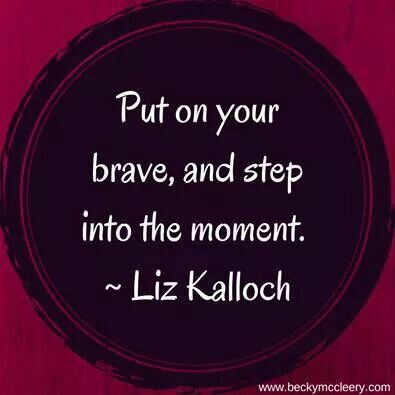 Step into the moment~