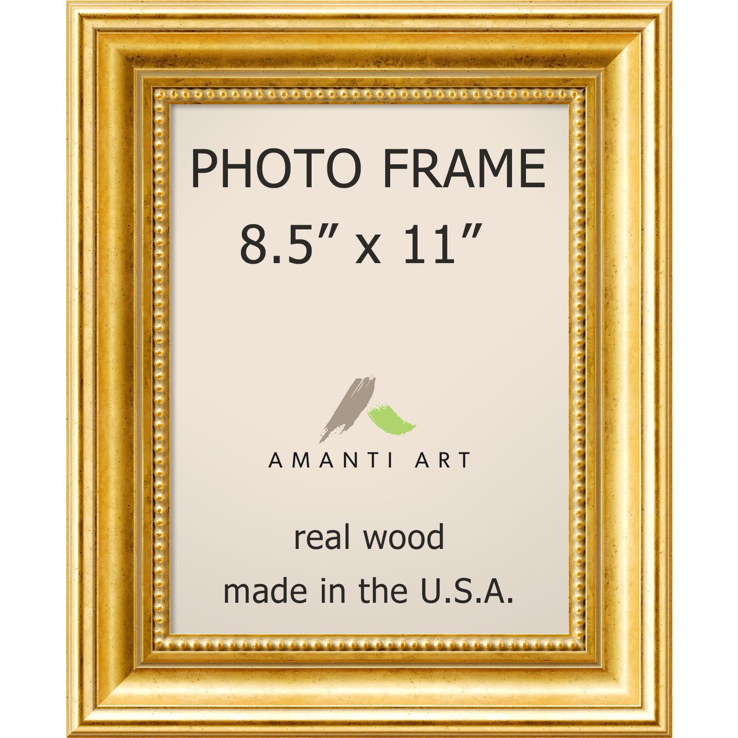 Townhouse Gold Photo Frame 12 X 14 Inch Gold Photo Frame 85x11