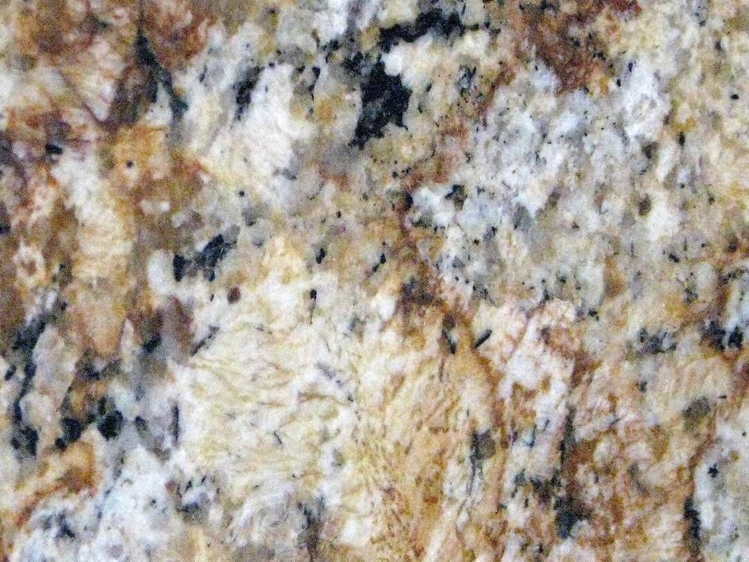 Sweeping Gold Veins Characterize This Gorgeous Rare Solarious Granite From Brazil Dark Throughout Provide Balance And Contrast