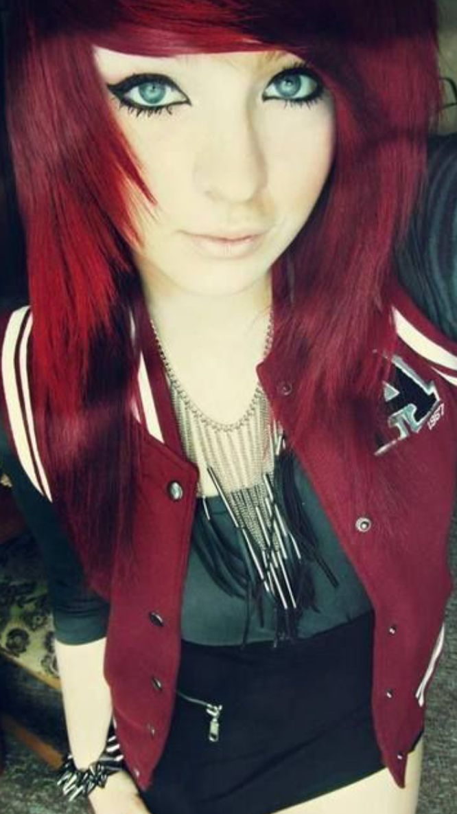 Pin by kitty face on hair colour uc pinterest emo emo scene and