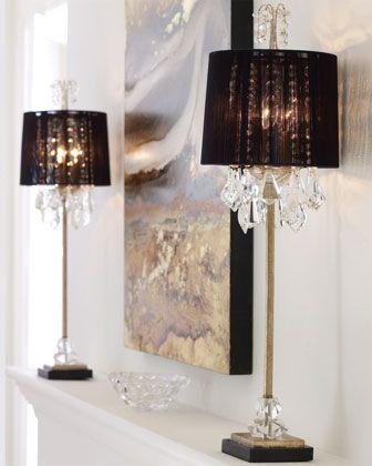 Christella buffet lamp neiman marcus