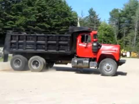 1981 Mack Rd686 Dump Truck Tipper Truck 30 Ton 10 Tyre Tire Youtube Tipper Truck Mack Trucks Dump Truck