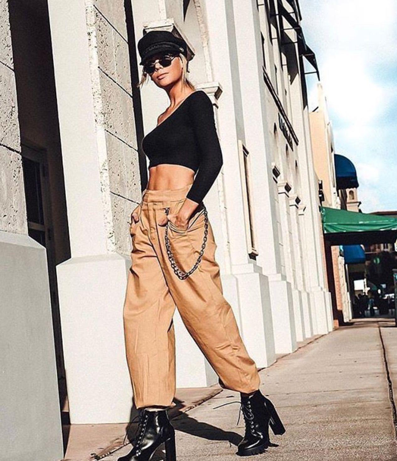 ciara outfits baggy pants - 640×768