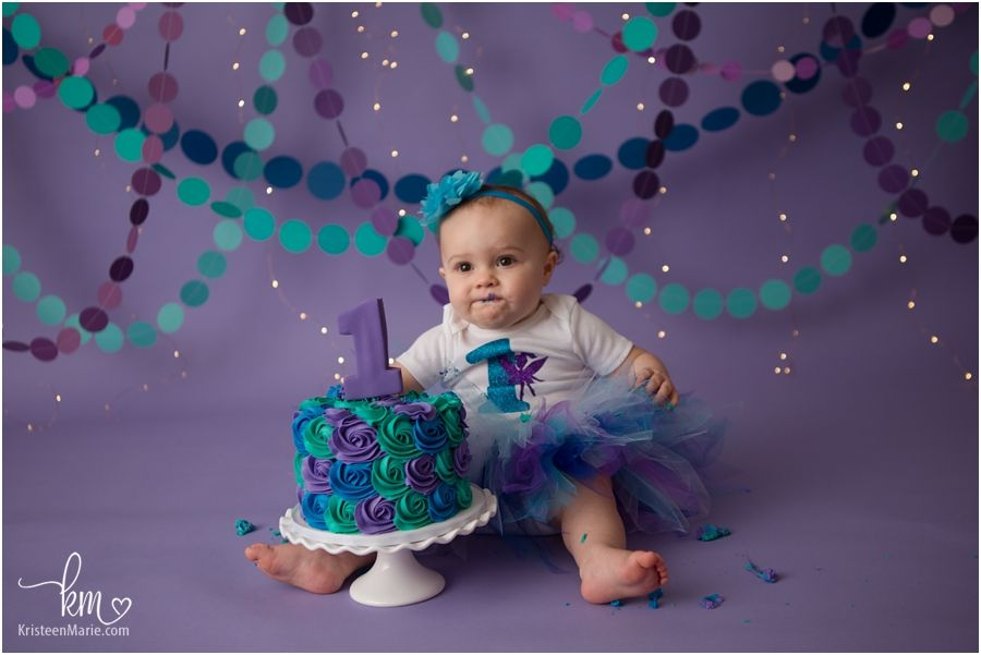1st Birthday Photography In Indianapolis In First Birthday Photography First Birthday Pictures Teal Cake