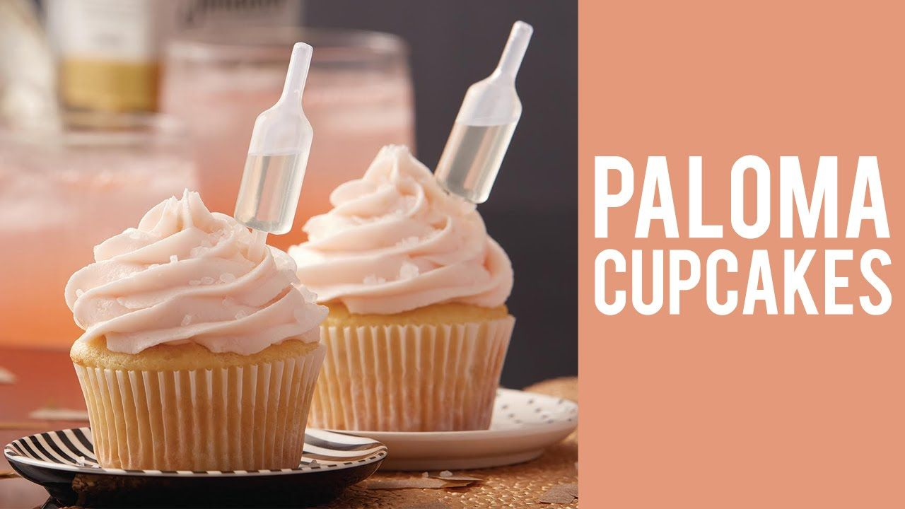 Infuse Your Cupcakes With Tequila To Create These