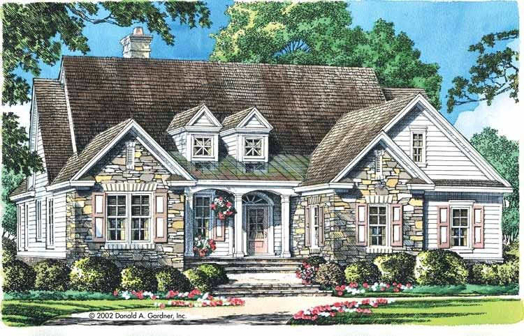 Eplans cottage house plan exquisite exterior 1911 for Eplans cottage house plan