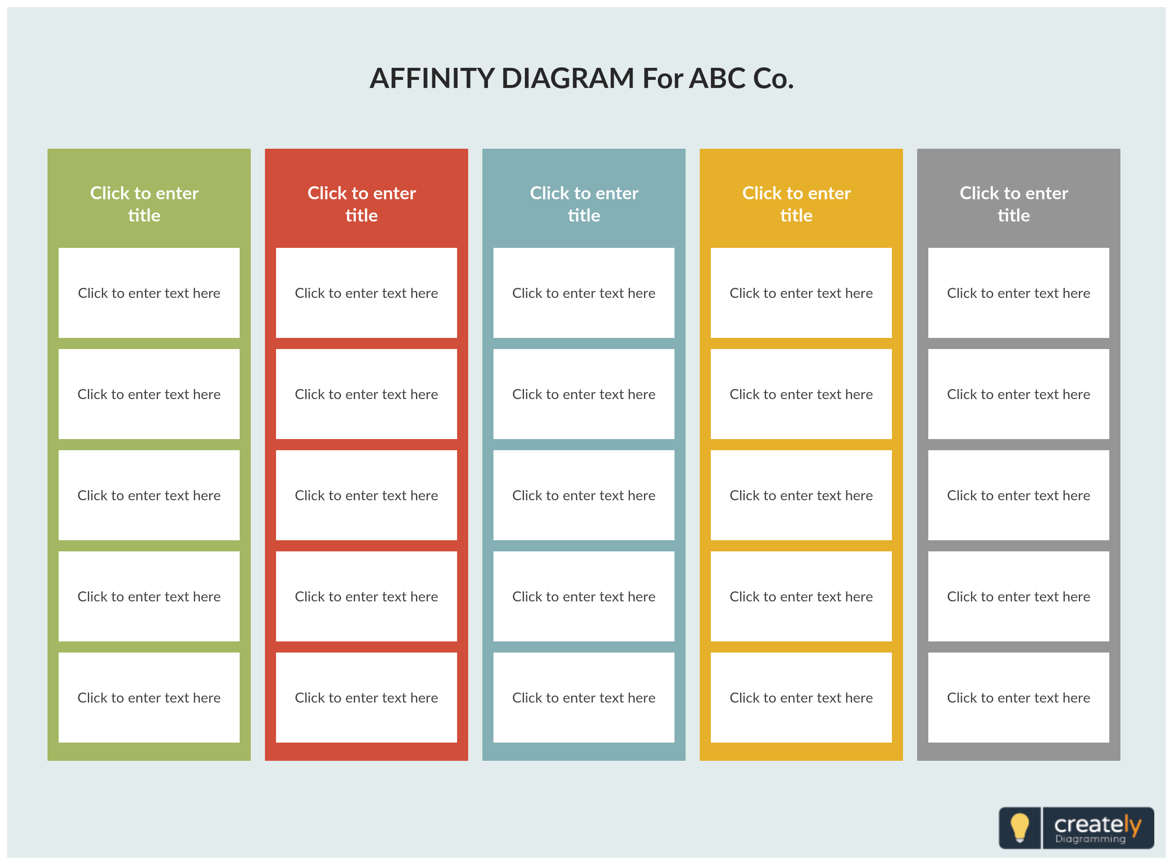 An Affinity Diagram Is A Brainstorming Technique Used To