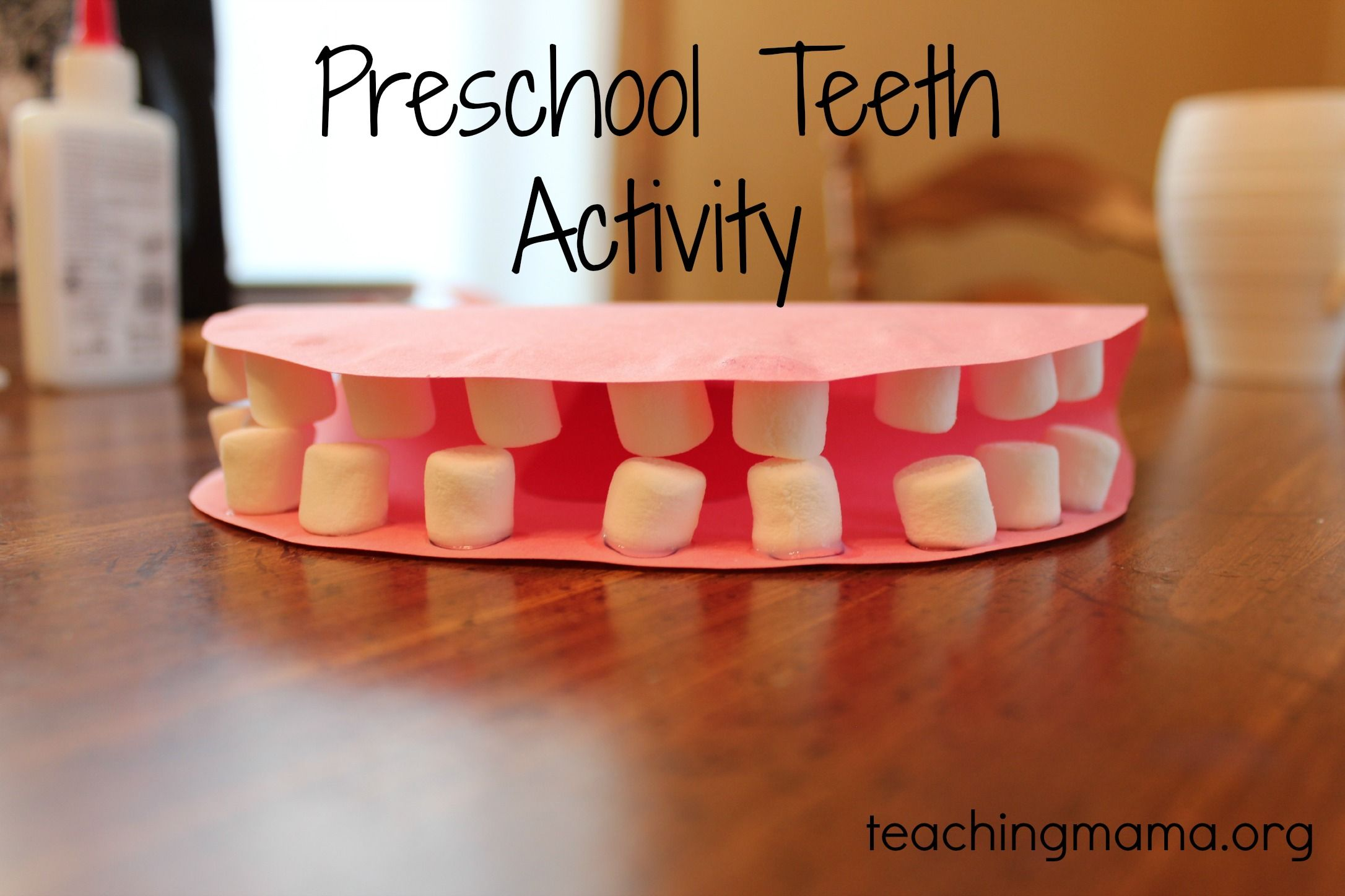 Preschool Teeth Lesson Helps Kids Understand How Important It Is To Have White Teeth When You