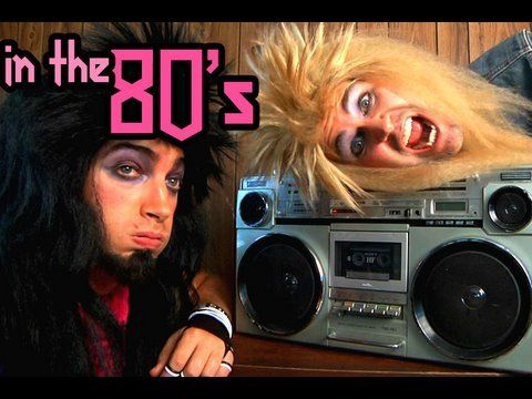 In The 80's Song - Rhett & Link This might just be one of
