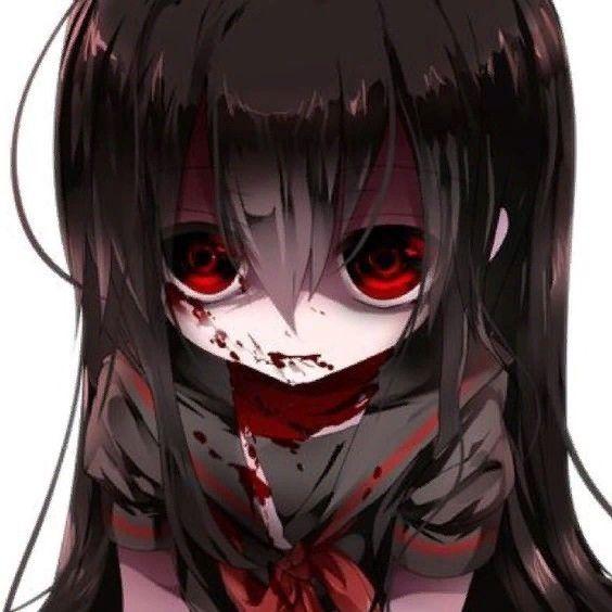 Pin By Mariaglecia Clementina On Dizajn Personazhej Yandere Anime Dark Anime Evil Anime