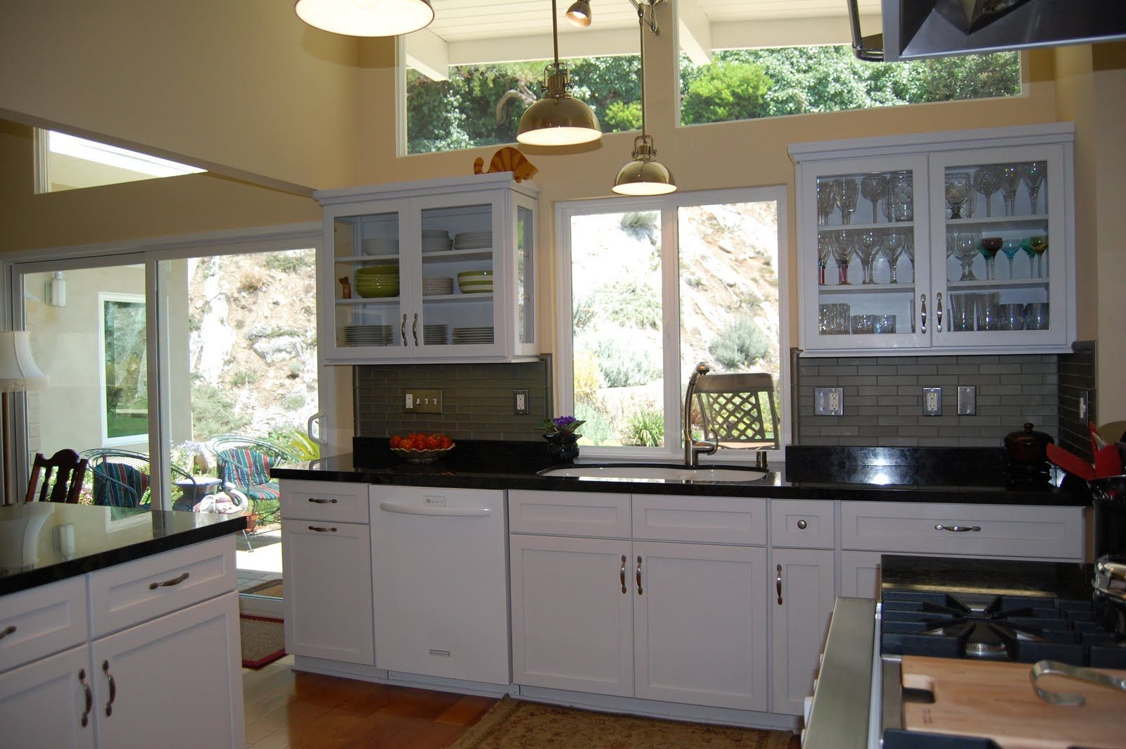Home Kitchen Remodeling Exterior Plans Windows Over Cabinets  No Soffits  Kitchen Remodel Ideas .
