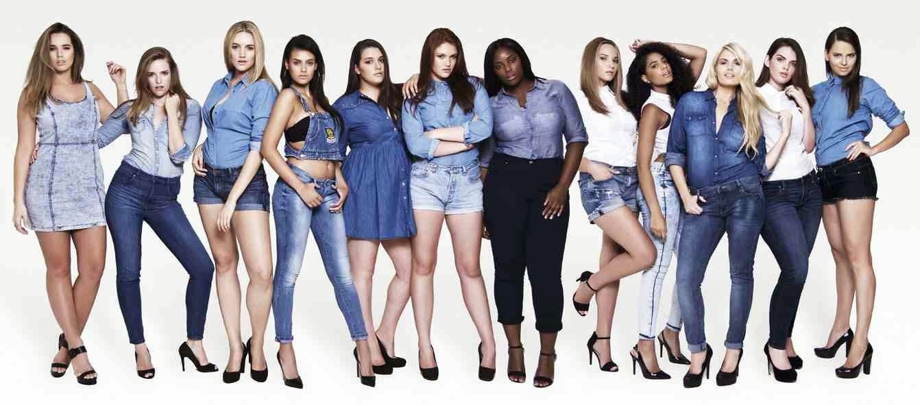 Image result for plus size models campaign