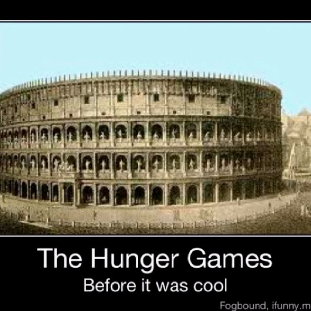 The Hunger Games...before it was cool...
